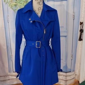 Kenneth Cole trenchcoat blue excellent condition